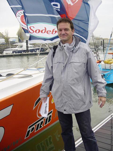 François Bisch - Sables d'Olonne - Vendée Globe 2004/2005